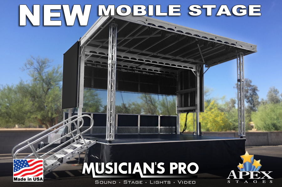 Musician's Pro | Apex 2016 Mobile Stage Rental | Bowling