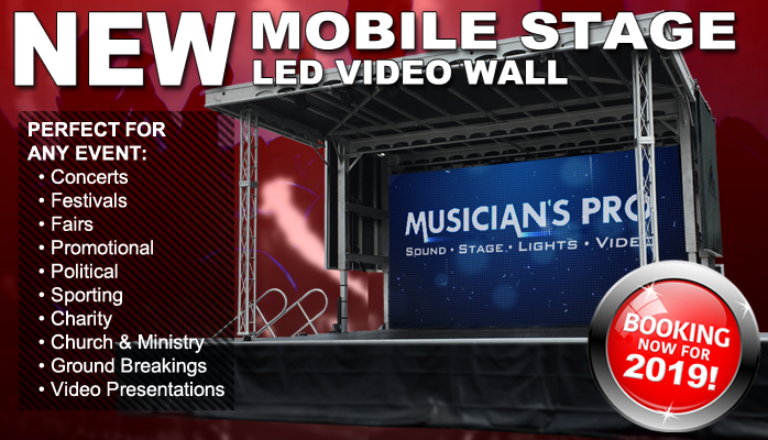 Musician's Pro | Apex Mobile Stage Rental | Bowling Green KY