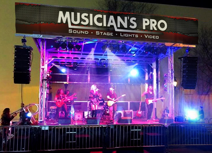 Musician's Pro | Apex Mobile Stage & Sound Rental | Bowling