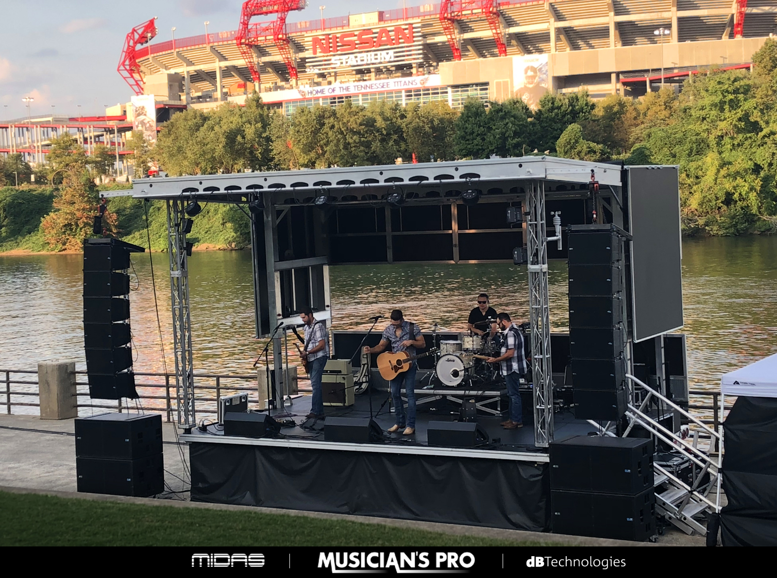 Musician's Pro | Apex Mobile Stage Special Event Rental